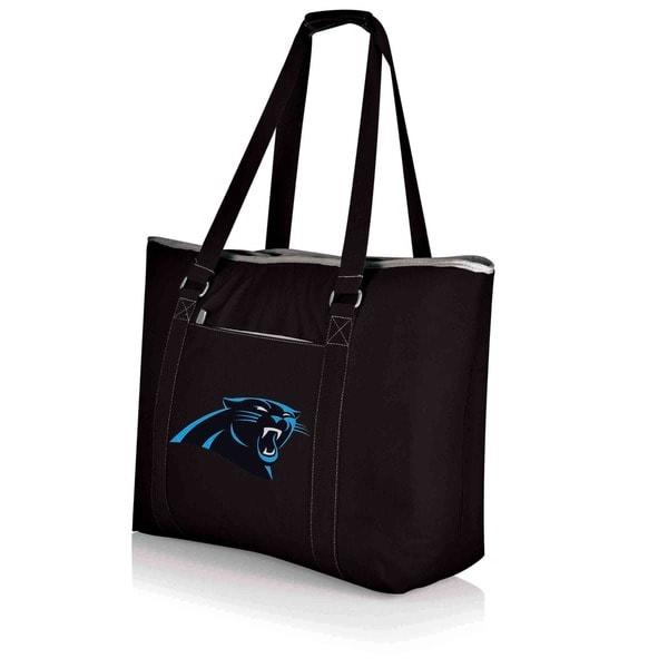 Picnic Time Carolina Panthers Tahoe Shoulder Tote - Black