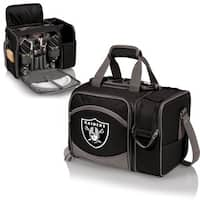 Picnic Time Malibu Black Oakland Raiders