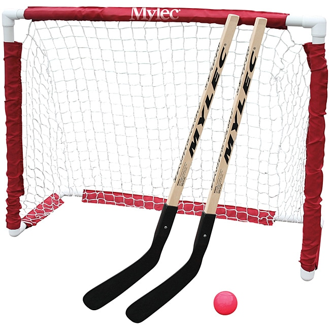 Mylec All-purpose PVC Junior Folding Goal Set with Nylon Netting