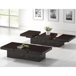 Baxton Studio Cambridge Dark Brown Wood Modern Coffee Table
