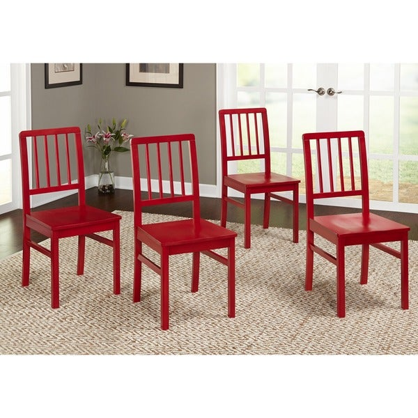 Simple Living Camden Dining Chair (Set of 4) - Free Shipping Today ...