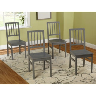 Simple Living Camden Dining Chair (Set of 4) - N/A (Option: Grey)