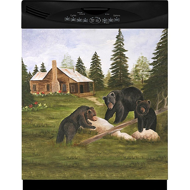 Appliance Art 'Three Bears' Dishwasher Cover