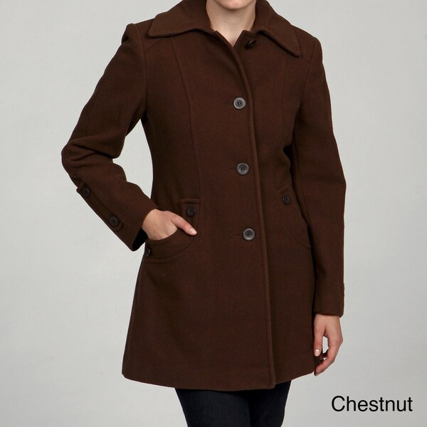 Stephanie Mathews Women's Button-front Coat