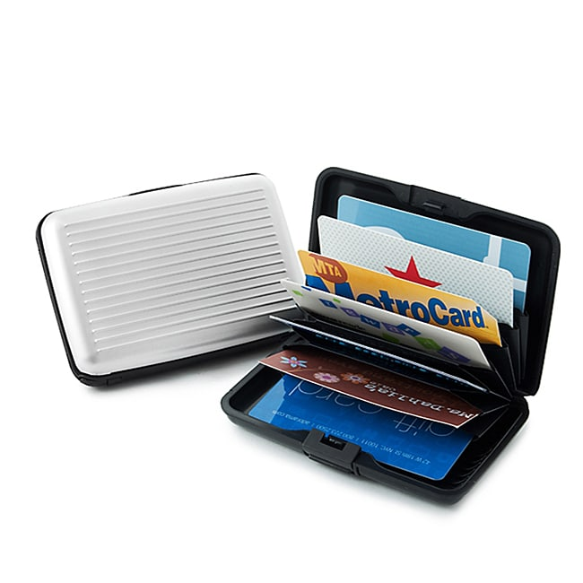 Aluminum RFID Blocking Credit Card Guard Wallet