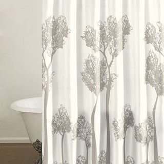 City Scene Tree Top Shower Curtain