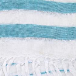 Mariner Striped Glitz Shawl