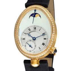 Breguet Women's 'Reine de Naples' Yellow Gold Diamond Watch