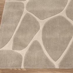 nuLOOM Handmade Pino Masonry Rock Abstract Rug (5' x 8')