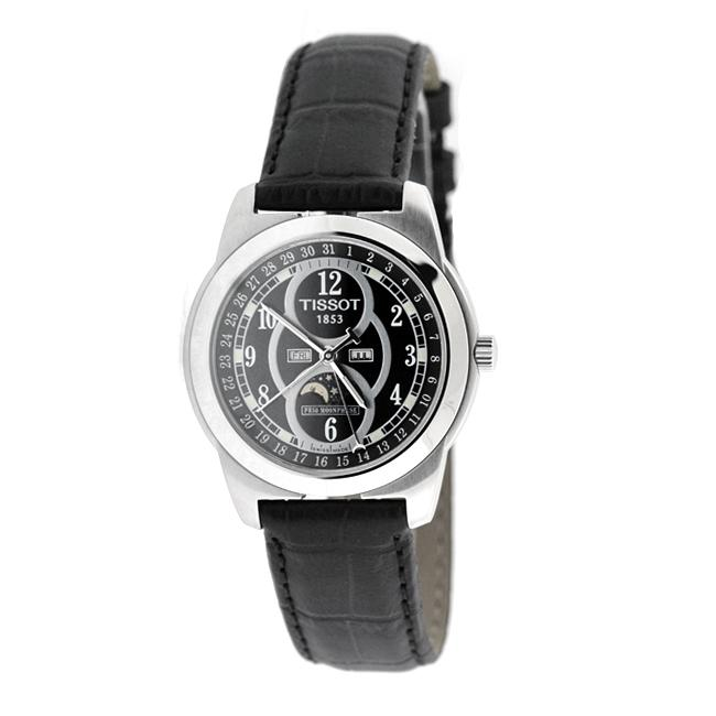 Tissot PR 50 Men's Moonphase Stainless Steel Case Watch