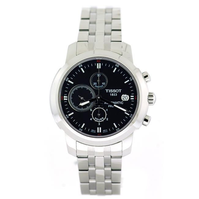 Tissot Men's 'T-Sport PRC 200' Stainless Steel Watch