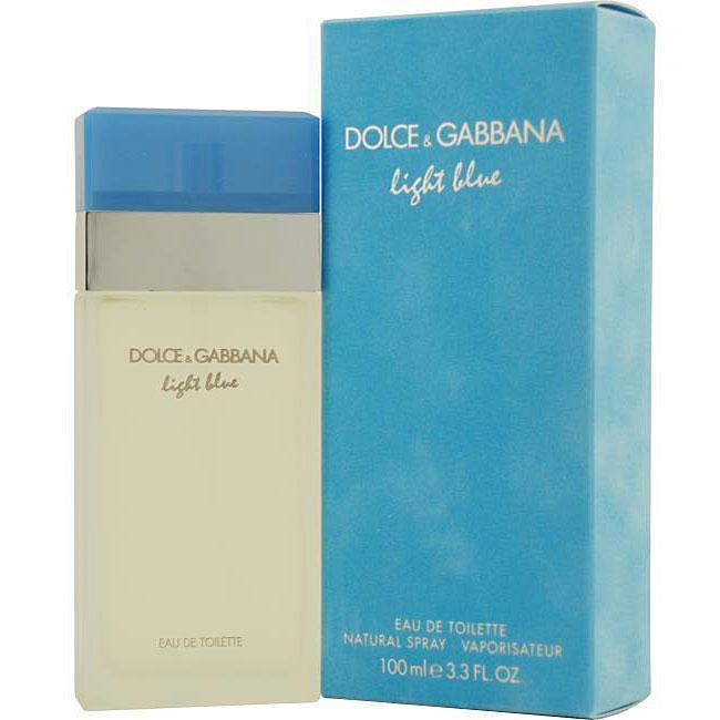D&G 'Light Blue' Women's 3.4-ounce Eau de Toilette Spray