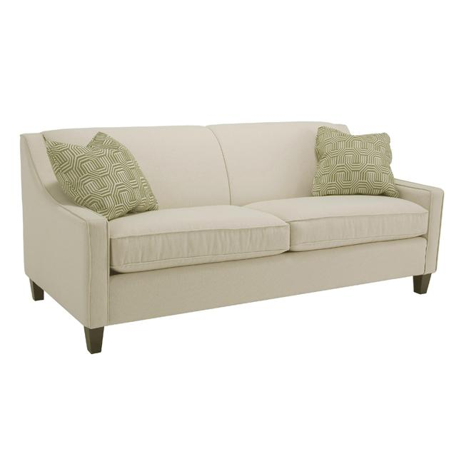 Genoa Ivory Fabric Sofa