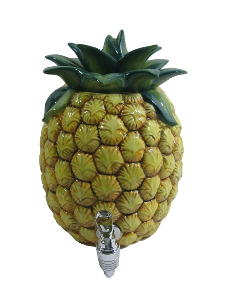 American Atelier 188-ounce Ceramic Pineapple Beverage Dispenser