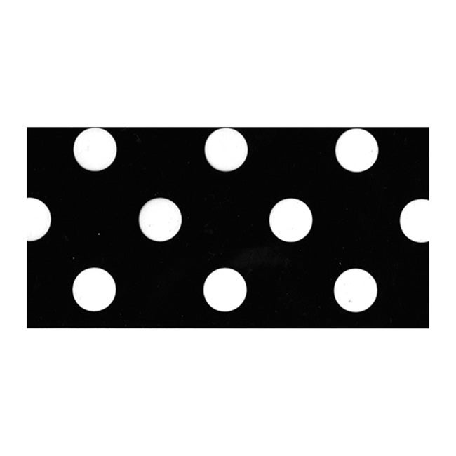 Fancy That Black Polka Dot 25-yard Roll Decorative Packing Tape
