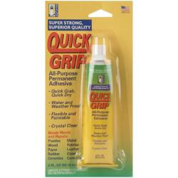 Quick Grip Two-ounce All-purpose Waterproof Permanent Adhesive