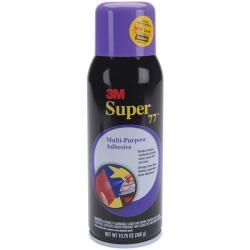 3M Super 77 Multipurpose Adhesive Spray (10.75-ounce Bottle) - Thumbnail 0