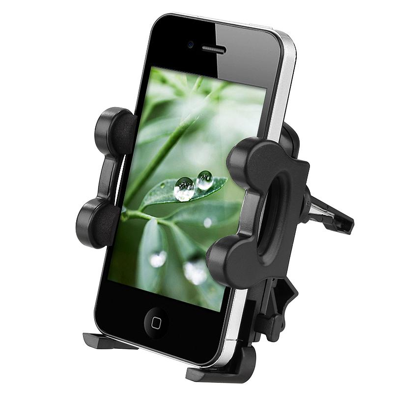INSTEN Car Air Vent Mounted Holder for Apple iPhone 3G/ 3GS/ 4/ 4S/ 5S/ 6/ iPod - Thumbnail 0