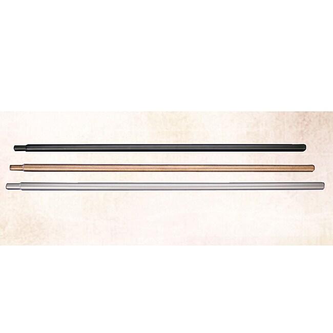 Metal Adjustable Curtain Rod Set