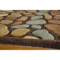 Momeni Bliss Multicolor Pebbles Hand-Tufted Rug (8' X 10') - 8' x 10'