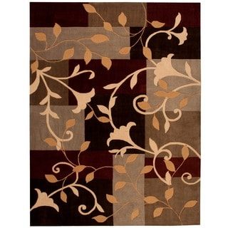 Nourison Hand-tufted Contours Multicolor Rug (8' x 10'6)