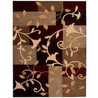 Nourison Hand-tufted Contours Multicolor Rug - 8' x 10'6