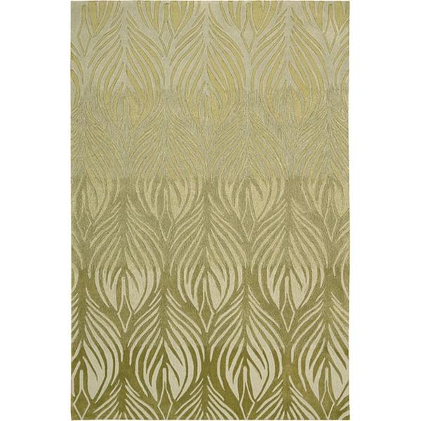 Nourison Contour Floral Rug (8' x 10'6) - 8' x 10'6
