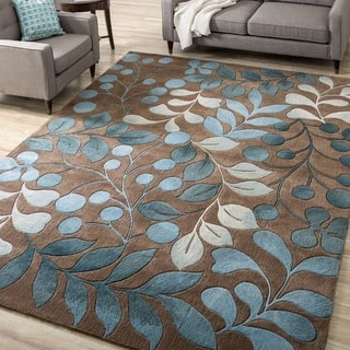 area carved echo dp circles shapes and geometric hand contemporary amazon clean fade stain casual turquoise x resistant abstract modern brown easy com blue rug comfy