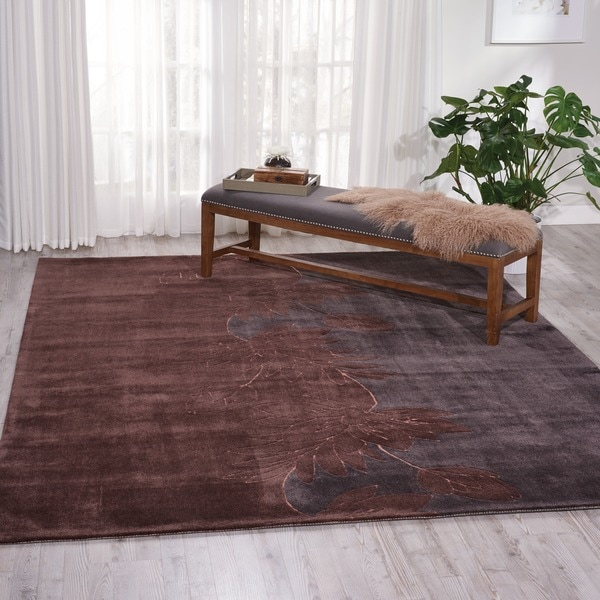 Nourison Hand-Tufted Contours Multicolor Indoor Rug - 8' x 10'6