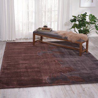 "Nourison Hand-Tufted Contours Multicolor Indoor Rug (8' x 10'6"")"