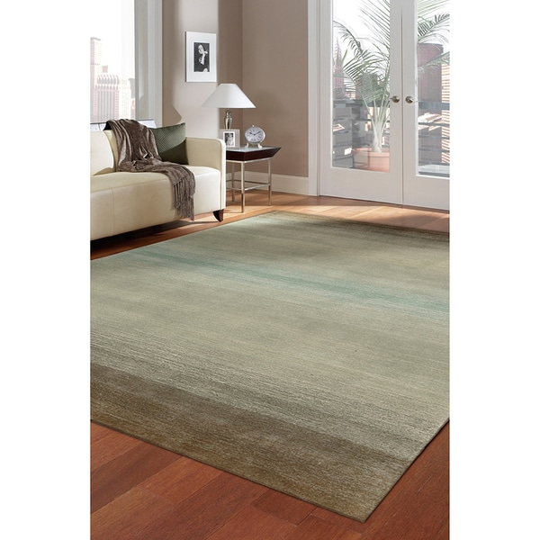 Nourison Hand-tufted Contours Natural Rug (3'6 x 5'6)