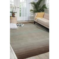 Nourison Hand-tufted Contours Natural Area Rug - 7'3 x 9'3
