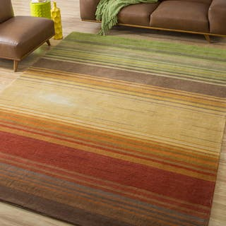 Nourison Hand-tufted Contours Harvest Rug (8' x 10'6)|https://ak1.ostkcdn.com/images/products/6201434/P13850070.jpg?impolicy=medium