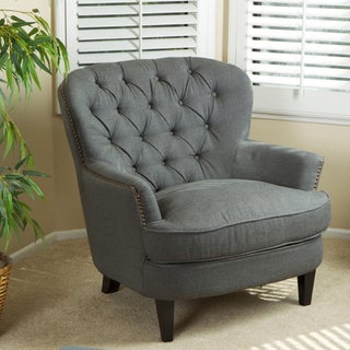 Tafton Tufted Oversized Fabric Club Chair by Christopher Knight Home (3 options available)