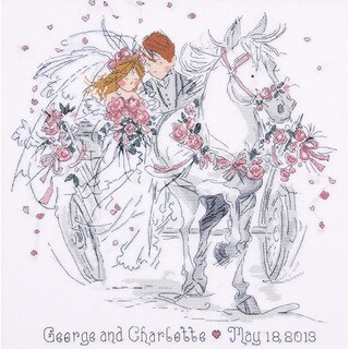 Wedding Carriage Counted Cross Stitch Kit