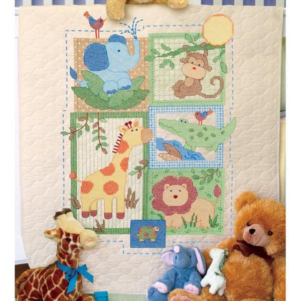 Shop Baby Hugs Savannah Quilt Stamped Cross Stitch Kit