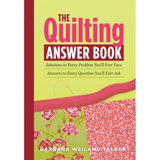 Storey Publishing 'The Quilting Answer Book' Quilting Book