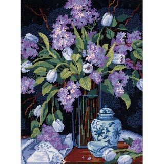 Dimensions 'Tulips and Lilacs' Needlepoint Kit