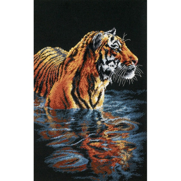 Dimensions Tiger Cross Stitch Kit Free Shipping On