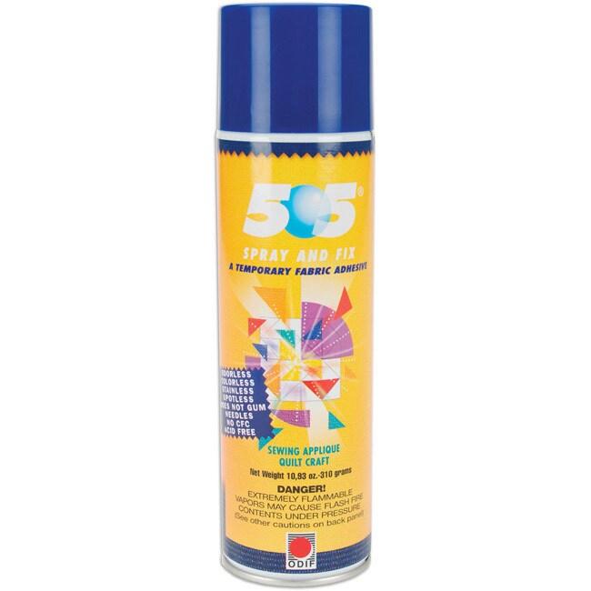 Odif USA 505 Spray & Fix Temporary Fabric Adhesive (11 Ou...