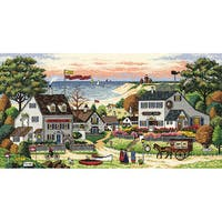 Dimensions Gold Collection Cozy Cove Cross Stitch Kit