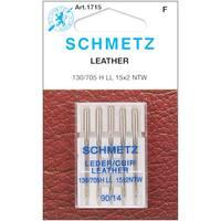 Schmetz Silvertone Sewing-machine Leather Needles (Set of Five)