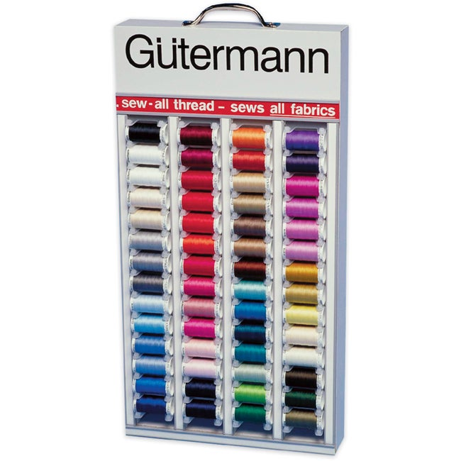 Gutermann 64-color In-home Sew-all Thread Assortment