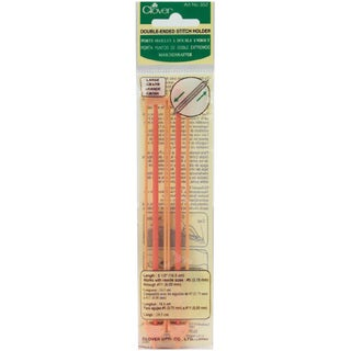 Clover Double Ended Stitch Holder (Pack of 2)