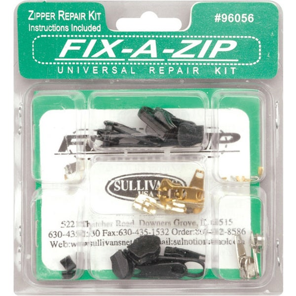Sullivans Fix-a-Zip Universal Repair Kit