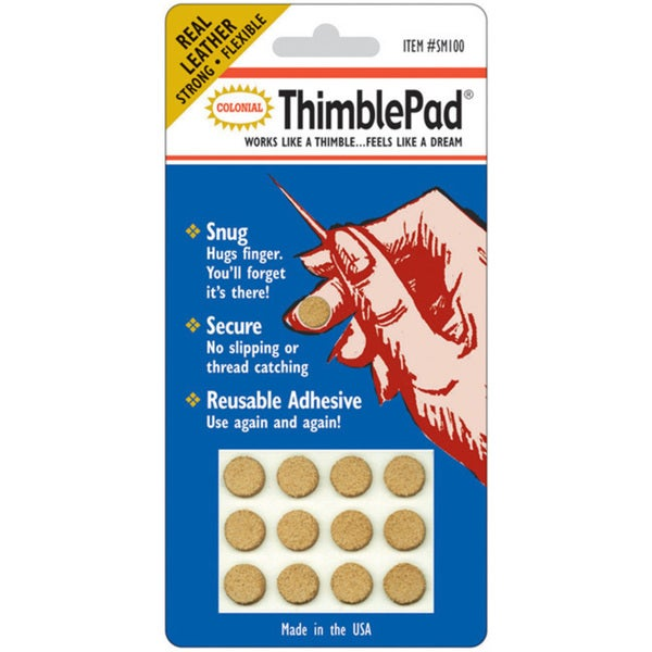 Colonial Needle ThimblePad (Pack of 12)