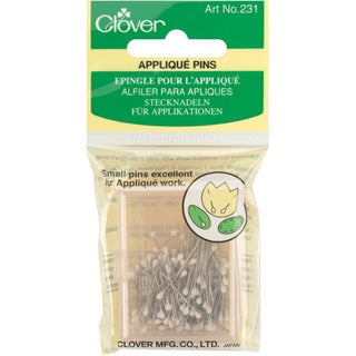 Clover Applique Pins (Pack of 150)