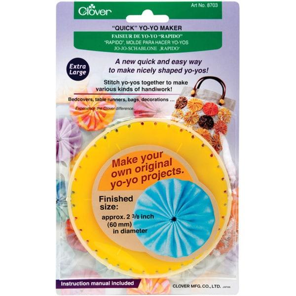 Clover Extra Large Round Quick Yo-Yo Maker