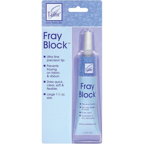 Washable June Tailor Plastic Precision-tipped 1.5-ounce Fray Block