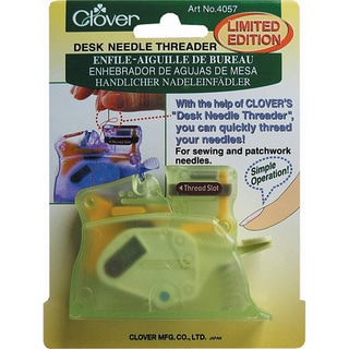 Clover Green Desk Needle Threader